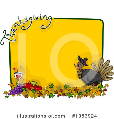 Thanksgiving Clipart #1083924 by BNP Design Studio