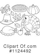 Thanksgiving Clipart #1124492 by visekart