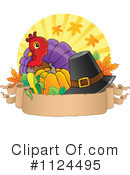 Royalty-Free (RF) Thanksgiving Clipart Illustration #1124495