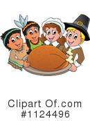 Royalty-Free (RF) Thanksgiving Clipart Illustration #1124496