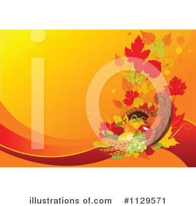 Royalty-Free (RF) Thanksgiving Clipart Illustration by Pushkin - Stock Sample #1129571