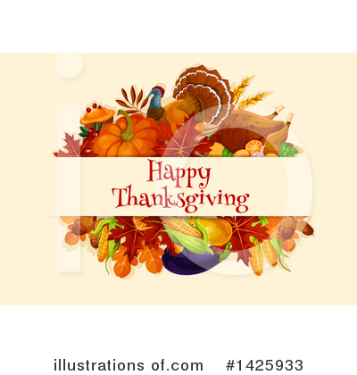 Thanksgiving Clipart #1425933 by Vector Tradition SM
