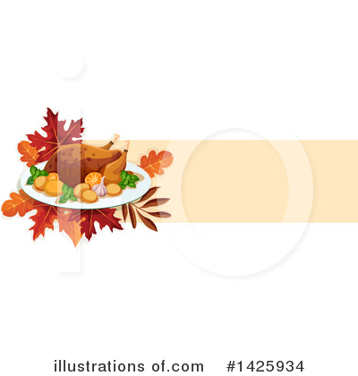 Thanksgiving Clipart #1425934 by Vector Tradition SM