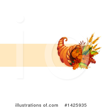Thanksgiving Clipart #1425935 by Vector Tradition SM