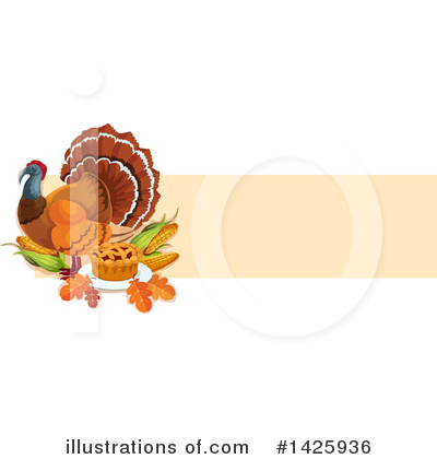 Thanksgiving Clipart #1425936 by Vector Tradition SM