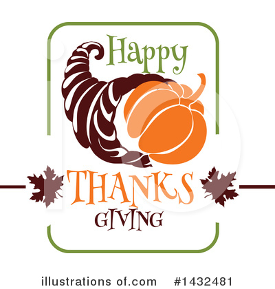 Thanksgiving Clipart #1432481 by Vector Tradition SM