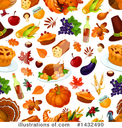 Thanksgiving Clipart #1432490 by Vector Tradition SM
