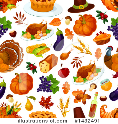 Thanksgiving Clipart #1432491 by Vector Tradition SM