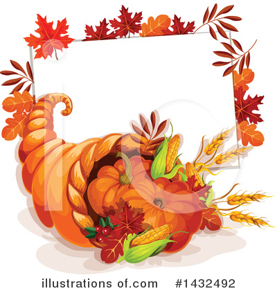 Thanksgiving Clipart #1432492 by Vector Tradition SM