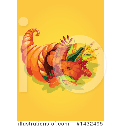 Thanksgiving Clipart #1432495 by Vector Tradition SM