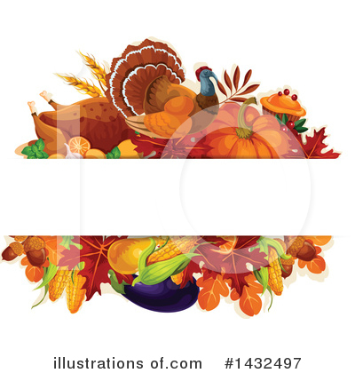 Thanksgiving Clipart #1432497 by Vector Tradition SM