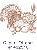 Thanksgiving Clipart #1432510 by Vector Tradition SM