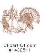 Thanksgiving Clipart #1432511 by Vector Tradition SM