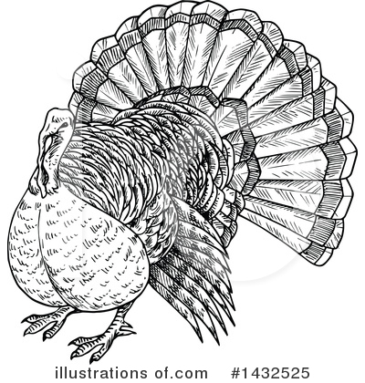 Thanksgiving Clipart #1432525 by Vector Tradition SM