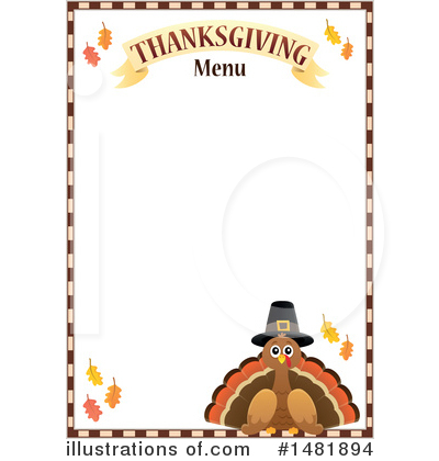 Thanksgiving Clipart #1481894 by visekart