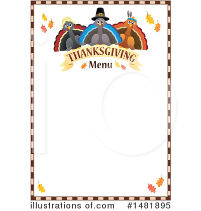 Thanksgiving Clipart #1481895 by visekart