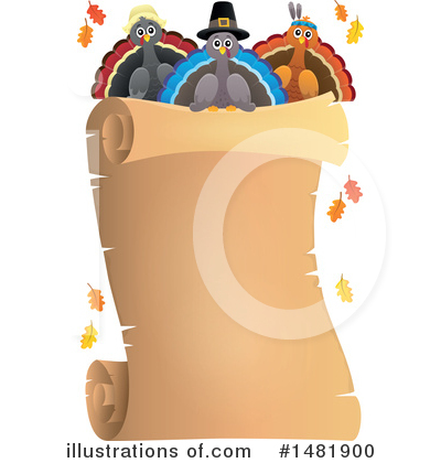 Thanksgiving Clipart #1481900 by visekart