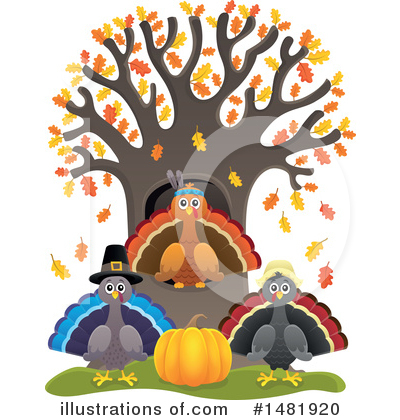 Thanksgiving Clipart #1481920 by visekart