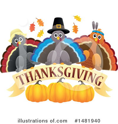 Thanksgiving Clipart #1481940 by visekart