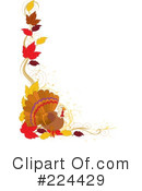 Royalty-Free (RF) Thanksgiving Clipart Illustration #224429