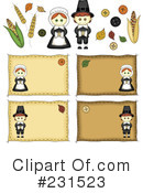 Thanksgiving Clipart #231523 by inkgraphics