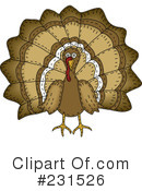 Royalty-Free (RF) Thanksgiving Clipart Illustration #231526