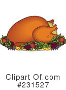 Royalty-Free (RF) Thanksgiving Clipart Illustration #231527