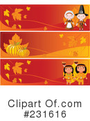 Royalty-Free (RF) Thanksgiving Clipart Illustration #231616