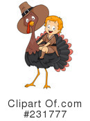 Royalty-Free (RF) Thanksgiving Clipart Illustration #231777