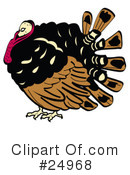 Royalty-Free (RF) Thanksgiving Clipart Illustration #24968