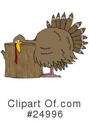 Royalty-Free (RF) Thanksgiving Clipart Illustration #24996