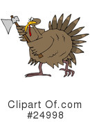 Royalty-Free (RF) Thanksgiving Clipart Illustration #24998