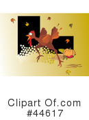 Royalty-Free (RF) Thanksgiving Clipart Illustration #44617
