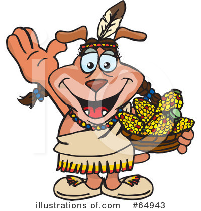 Native American Clipart #64943 by Dennis Holmes Designs