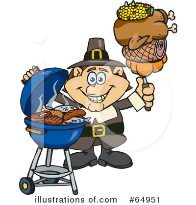 Royalty-Free (RF) Thanksgiving Clipart Illustration by Dennis Holmes Designs - Stock Sample #64951