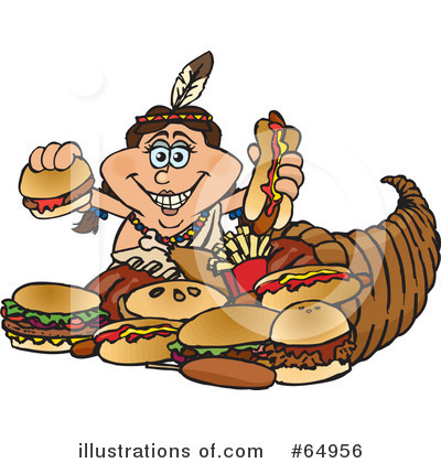 Native American Clipart #64956 by Dennis Holmes Designs