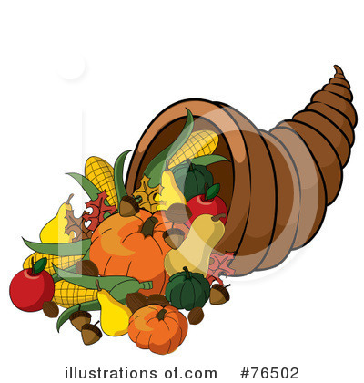 Cornucopia Clipart #76502 by Pams Clipart