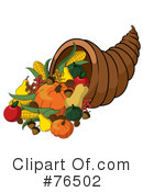 Royalty-Free (RF) Thanksgiving Clipart Illustration #76502