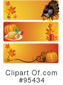 Royalty-Free (RF) Thanksgiving Clipart Illustration #95434