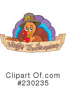 Thanksgiving Turkey Clipart #230235