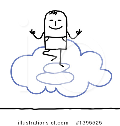 Royalty-Free (RF) The Cloud Clipart Illustration by NL shop - Stock Sample #1395525