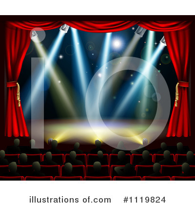 Royalty-Free (RF) Theater Clipart Illustration by AtStockIllustration - Stock Sample #1119824