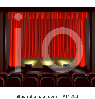 Theater Clipart #11883 by AtStockIllustration