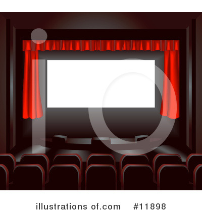 Theater Clipart #11898 by AtStockIllustration