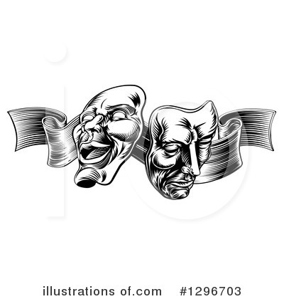 Royalty-Free (RF) Theater Clipart Illustration by AtStockIllustration - Stock Sample #1296703