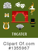Theater Clipart #1355967 by Vector Tradition SM