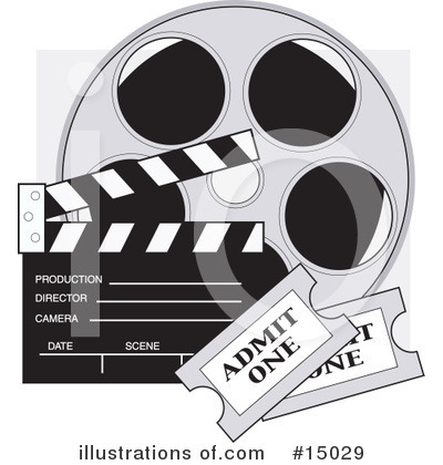 Movie Theater Clipart #15029 by Maria Bell