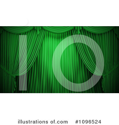 Curtains Clipart #1096524 by Mopic