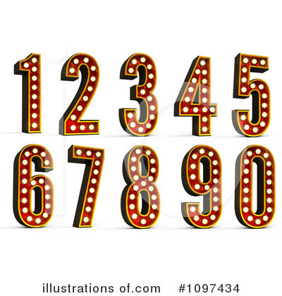 Numbers Clipart #1097434 by stockillustrations