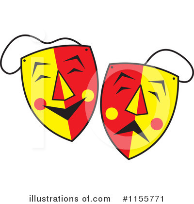 Mask Clipart #1155771 by Johnny Sajem
